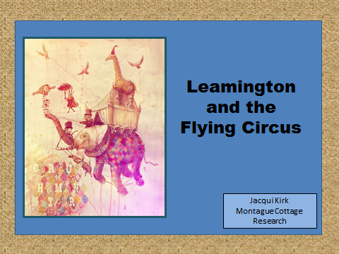Leamington and the Flying Circus